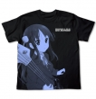 K-ON!!<BR>秋山澪T恤<BR>(黑 XL)